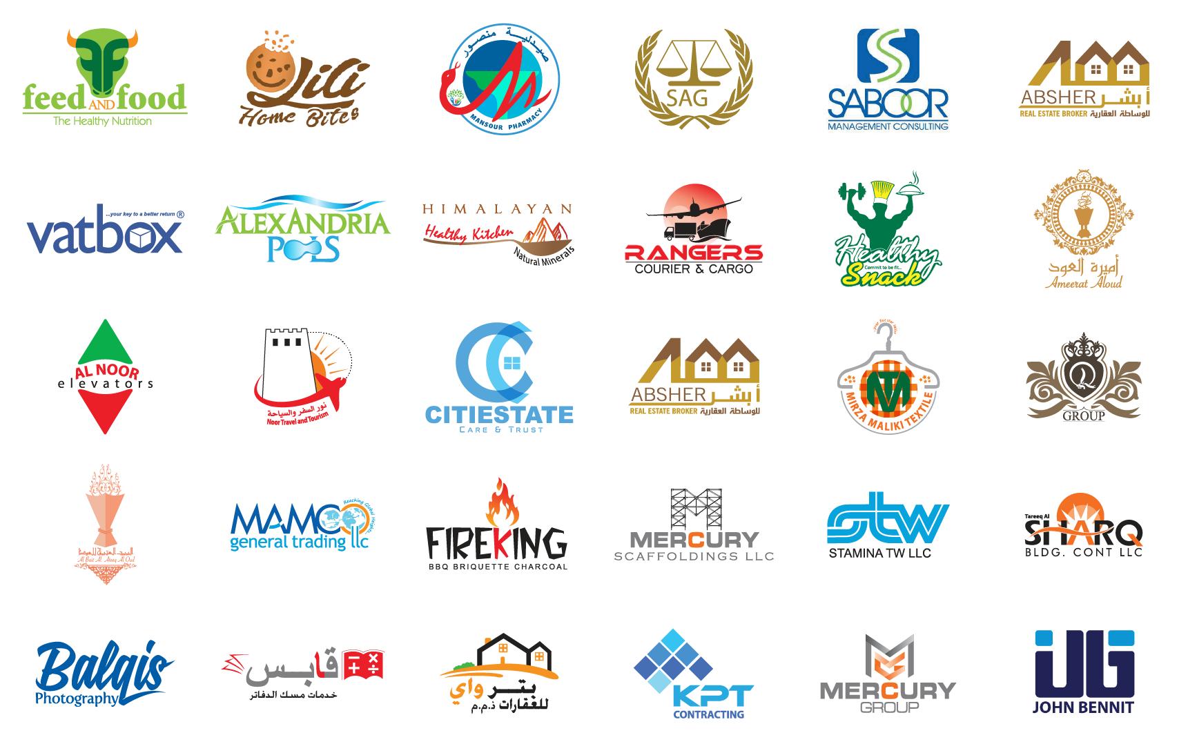 Branding services portfolio