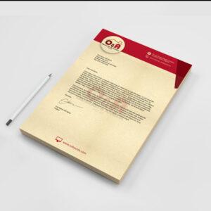 Company Letterhead Concord Paper